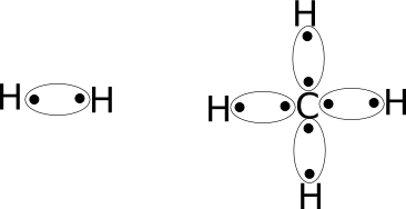 LDS of simple molecules H2 Lewis Dot Structure